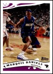 2005 Topps #135  Marquis Daniels  Front Thumbnail