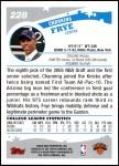 2005 Topps #228  Channing Frye  Back Thumbnail