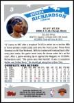 2005 Topps #3  Quentin Richardson  Back Thumbnail