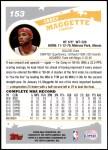 2005 Topps #153  Corey Maggette  Back Thumbnail
