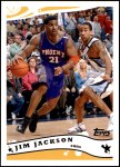 2005 Topps #176  Jim Jackson  Front Thumbnail