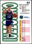 1993 Fleer #45  Mike Iuzzolino  Back Thumbnail