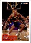 1993 Fleer #53  Mark Macon  Front Thumbnail