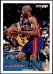 1993 Fleer #63  Alvin Robertson  Front Thumbnail