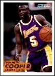 1993 Fleer #100  Duane Cooper  Front Thumbnail