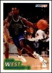 1993 Fleer #127  Doug West  Front Thumbnail
