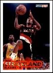 1993 Fleer #179  Rod Strickland  Front Thumbnail