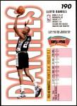 1993 Fleer #190  Lloyd Daniels  Back Thumbnail