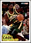 1993 Fleer #197  Michael Cage  Front Thumbnail