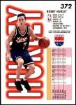 1993 Fleer #372  Bobby Hurley  Back Thumbnail