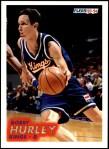 1993 Fleer #372  Bobby Hurley  Front Thumbnail