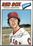 1977 Topps #191  Doug Griffin  Front Thumbnail
