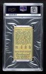 1911 T205 CAP Bobby Wallace   Back Thumbnail