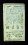 1911 T205  Ed Konetchy  Back Thumbnail