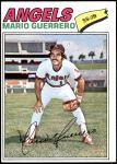 1977 Topps #628  Mario Guerrero  Front Thumbnail