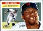 2005 Topps Heritage #82 WAS Torii Hunter  Front Thumbnail