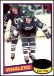1980 Topps #30  Blaine Stoughton  Front Thumbnail
