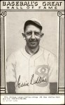 1948 Hall of Fame Exhibits  Eddie Collins  Front Thumbnail