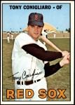 1967 Topps #280  Tony Conigliaro  Front Thumbnail