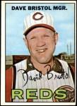 1967 Topps #21  Dave Bristol  Front Thumbnail