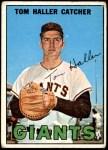 1967 Topps #65  Tom Haller  Front Thumbnail