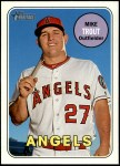 2018 Topps Heritage #275 A Mike Trout  Front Thumbnail