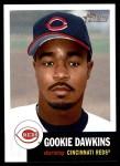 2002 Topps Heritage #186  Gookie Dawkins  Front Thumbnail