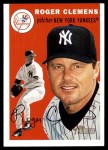 2003 Topps Heritage #54  Roger Clemens  Front Thumbnail