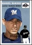 2003 Topps Heritage #85  Manuel Ramirez  Front Thumbnail