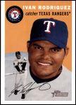2003 Topps Heritage #384  Ivan Rodriguez  Front Thumbnail