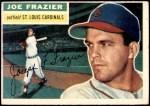 1956 Topps #141 GRY Joe Frazier  Front Thumbnail