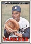 1967 Topps #25  Elston Howard  Front Thumbnail