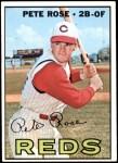 1967 Topps #430  Pete Rose  Front Thumbnail