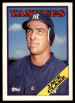 1988 Topps Traded #28 T Jack Clark  Front Thumbnail