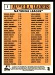 2012 Topps Heritage #5   -  Clayton Kershaw / Roy Halladay / Cliff Lee / Ryan Vogelsong / Tim Lincecum AL ERA Leaders Back Thumbnail