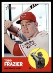 2012 Topps Heritage #133  Todd Frazier  Front Thumbnail