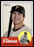 2012 Topps Heritage #323  Chase d'Arnaud  Front Thumbnail