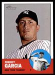 2012 Topps Heritage #401  Freddy Garcia  Front Thumbnail