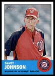 2012 Topps Heritage #402  Davey Johnson  Front Thumbnail
