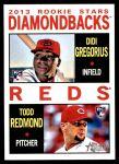 2013 Topps Heritage #33   -  Didi Gregorius / Todd Redmond Rookies Front Thumbnail