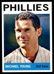 2013 Topps Heritage #258  Michael Young  Front Thumbnail