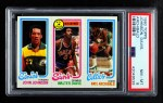 1980 Topps   -  John Johnson / Walter Davis / Nate Archibald 230 / 4 / 33 Front Thumbnail