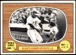 1967 Topps #153 xL  -  Paul Blair 1966 World Series - Game #3 - Blair's Homer Defeats L.A. Front Thumbnail