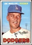 1967 Topps #149 xWHT Joe Moeller  Front Thumbnail