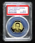 1910 Sweet Caporal Pins SM Clark Griffith  Front Thumbnail
