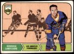 1968 Topps #38  Gord Labossiere  Front Thumbnail
