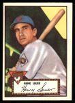 1952 Topps REPRINT #35  Hank Sauer  Front Thumbnail