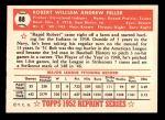 1952 Topps REPRINT #88  Bob Feller  Back Thumbnail