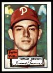 1952 Topps REPRINT #281  Tom Brown  Front Thumbnail