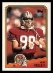 1988 Topps #45  Ron Heller  Front Thumbnail